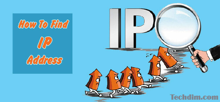 How to find IP address of PC