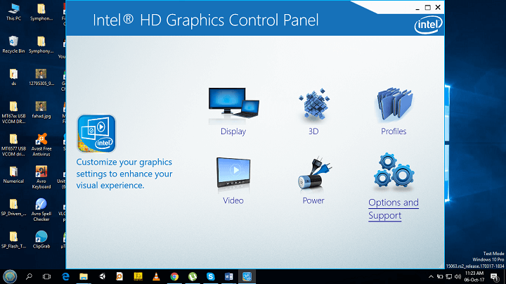 HD Graphics Control Panel