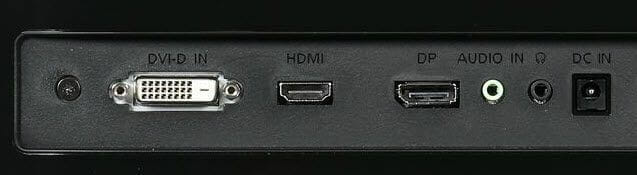 HDMI, DVI, DisplayPort