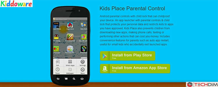 kiddoware parental control android app