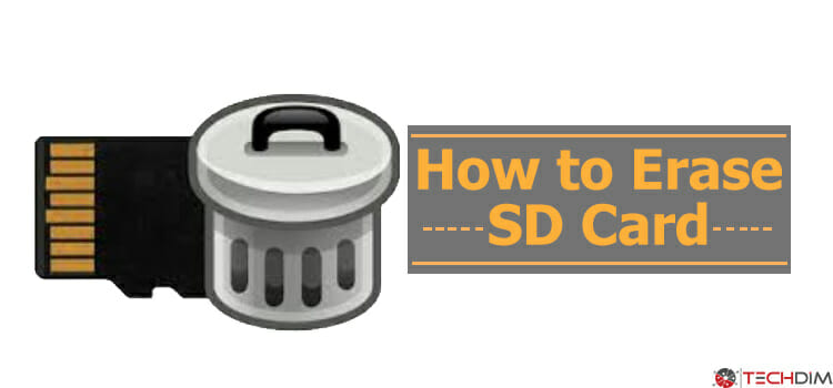 How to Erase SD Card