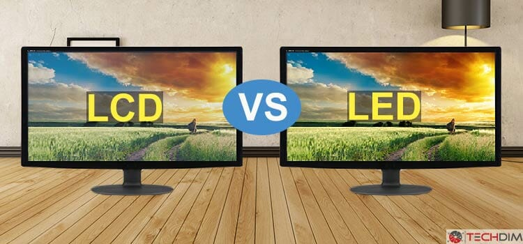 LED vs LCD Monitor