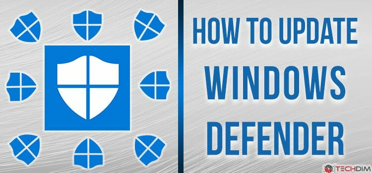 How to update Windows Defender