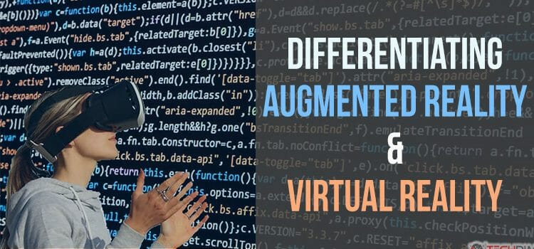 Differentiating Augmented Reality & Virtual Reality in Depth