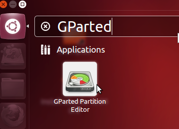 Partitions With GParted
