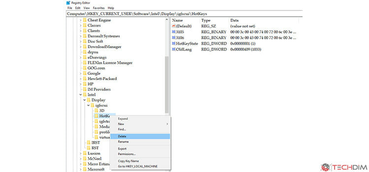 Editing Registry in Windows 5