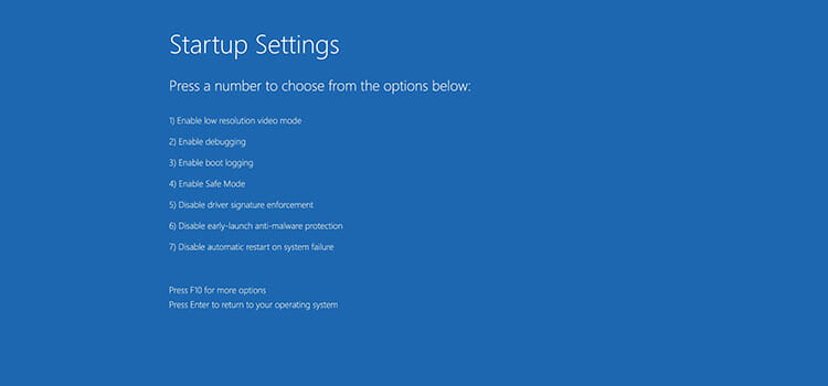 How to Boot into Safe Mode 8