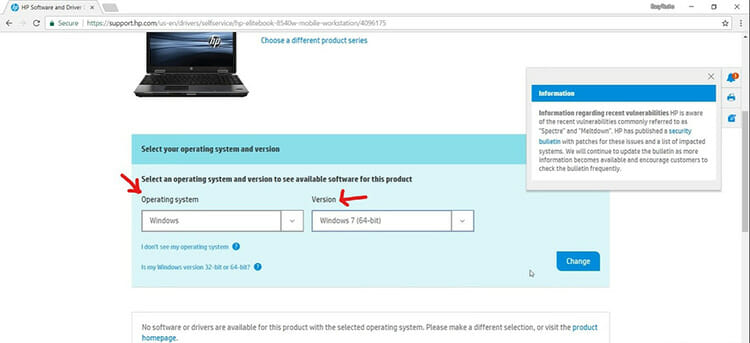 Download USB Drivers from Your PC Support Page 2