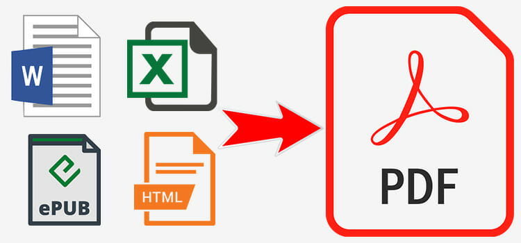 How to Convert Word Document, Html, Epub, Excel to PDF