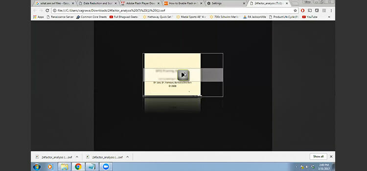 How to Play Swf Files in Chrome