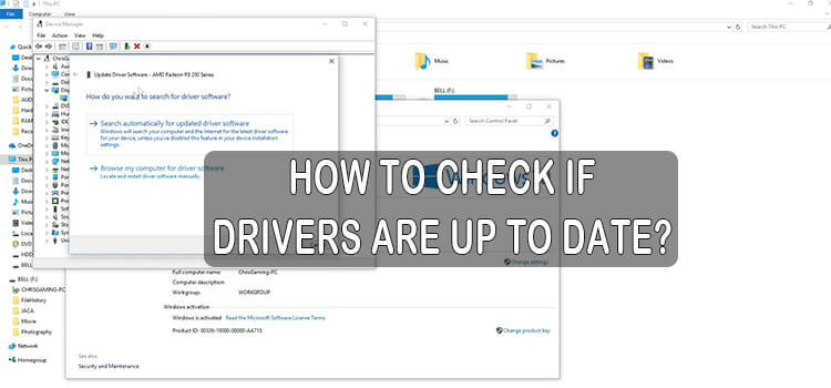 How to Check if Drivers are Up to Date