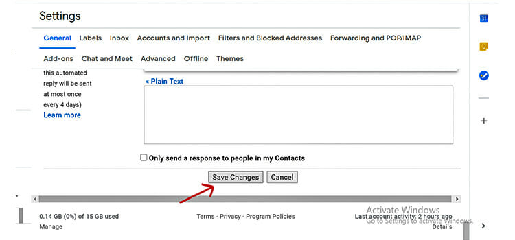 How to Unsend an Email in Gmail 4