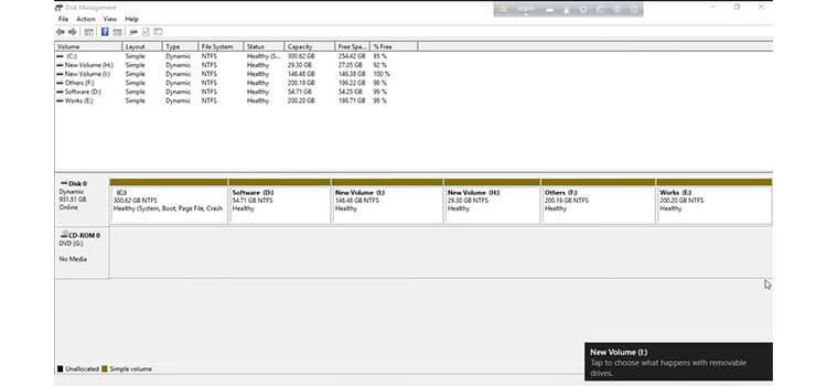 Converting the Unallocated Space to Free Space 6