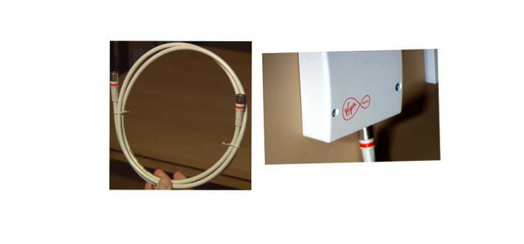 How to install cable splitter 1
