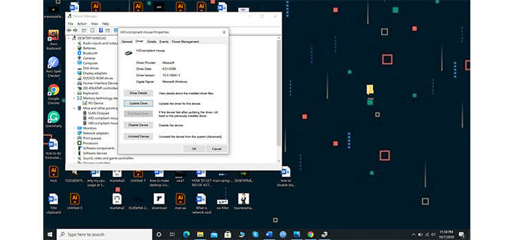 Fix Cursor Disappearing Problem in Windows 10 by Updating the Mouse Driver 5