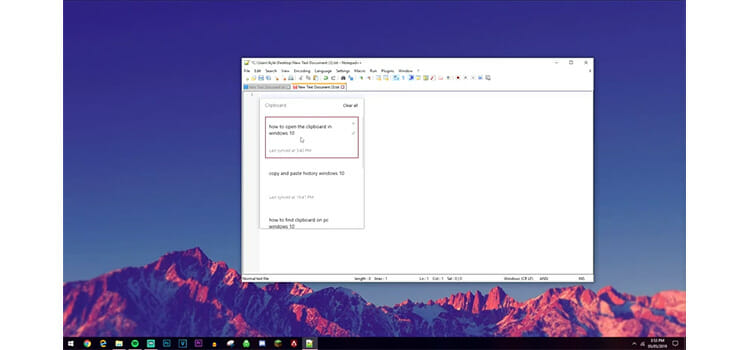 How to Access Clipboard on Windows 10 6