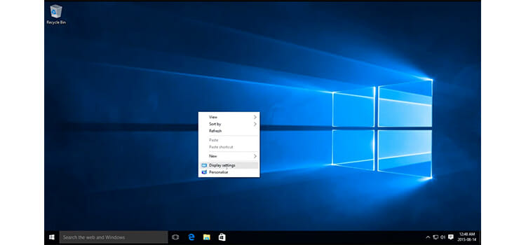 How to Change Screen Resolution on Windows 10 1