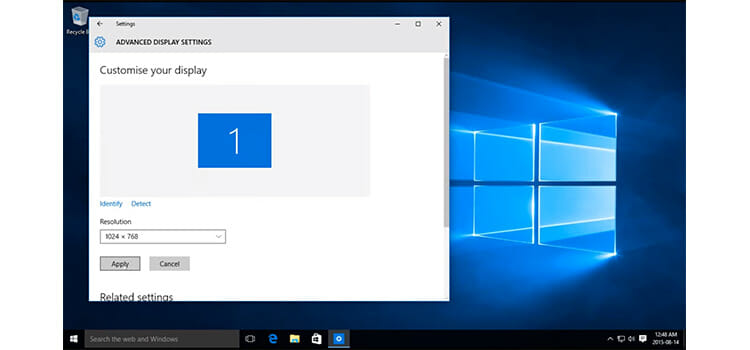 How to Change Screen Resolution on Windows 10 4