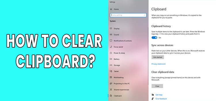 How to Clear Clipboard