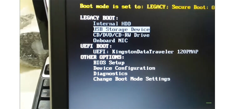 Installing Ubuntu from the Bootable USB drive 2