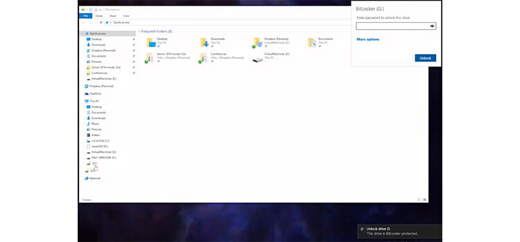 Password Protecting a Flash Drive Using BitLocker to go 7