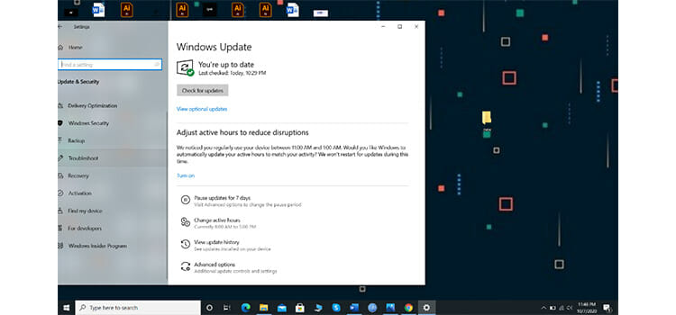 Run Windows 10 Build-in Troubleshoot to Fix Cursor Disappearing Problem on Windows 10 4