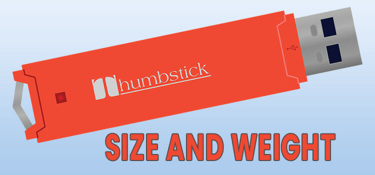 Size and Weight of a Thumb Drive