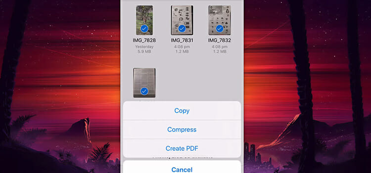 How to Save Images as Pdf on iPhone