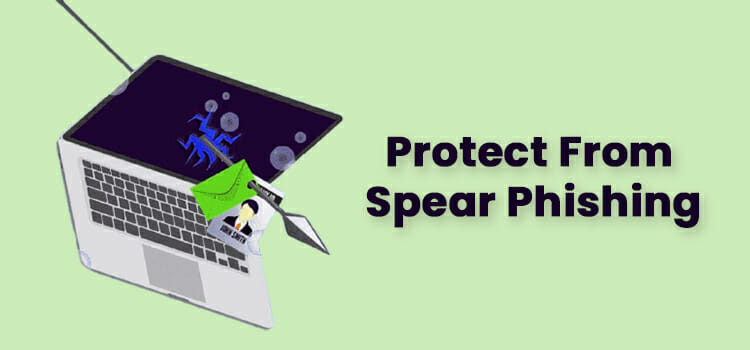 What helps protect from spear phishing