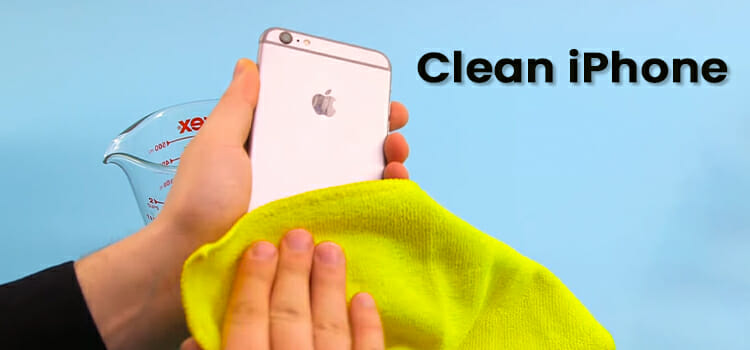 How to clean iPhone microphone