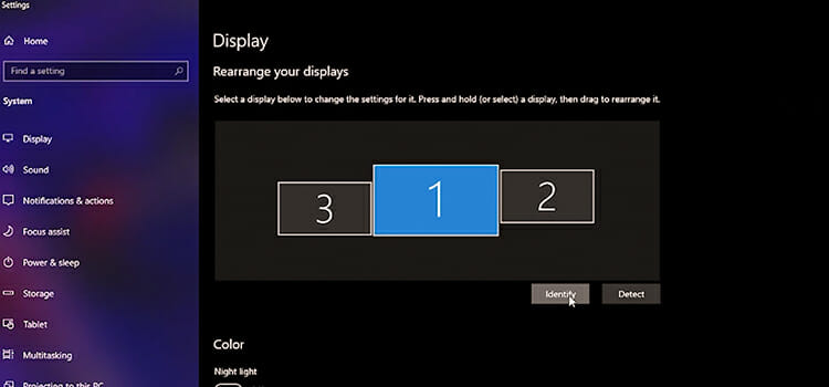How to set different wallpapers on dual monitors windows 10