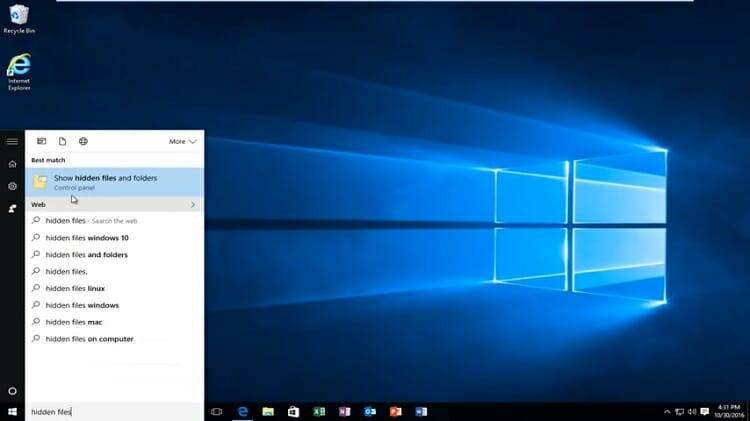 visit the 'File Explorer' of your Windows either directly from the bottom menu bar or the Windows start menu.