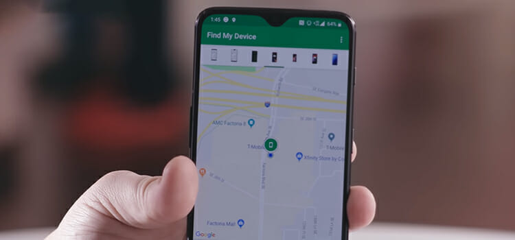 How to track iPhone from android